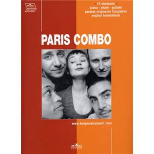 PARIS COMBO - BEST OF 12 TITRES P/V/G