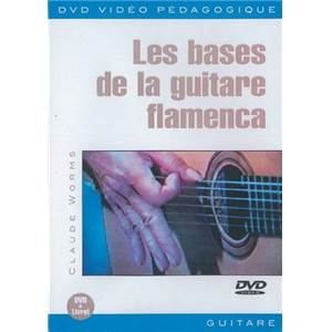 WORMS CLAUDE - DVD BASES DE LA GUITARE FLAMENCA (FRA)
