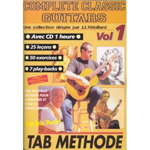 PERROT ERIC - COMPLETE CLASSIC GUITARS TAB. METHODE VOL.1 + CD