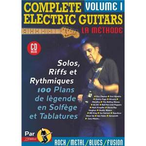 REBILLARD JEAN JACQUES - COMPLETE ELECTRIC GUITARS LA METHODE VOL.1 + CD
