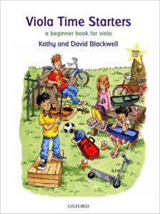 BLACKWELL KATHY ET DAVID - VIOLA TIME STARTERS +CD - ALTO