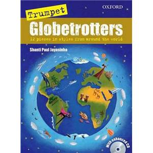 COMPILATION - TRUMPET GLOBETROTTERS + CD TROMPETTE/PIANO