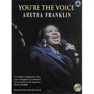 FRANKLIN ARETHA - YOU'RE THE VOICE + CD