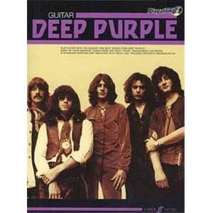 DEEP PURPLE - AUTHENTIC PLAY ALONG GUITAR + CD