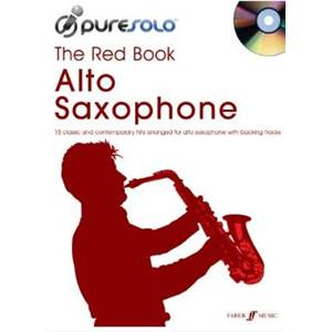 COMPILATION - PURE SOLO RED VOL.ALTO SAX + CD