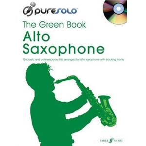 COMPILATION - PURE SOLO GREEN VOL.ALTO SAX + CD