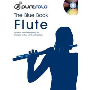 COMPILATION - PURE SOLO BLUE VOL.FLUTE + CD