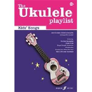 COMPILATION - UKULELE PLAYLIST THE KID'S SONGS VOL.CHORD SONGBOOK