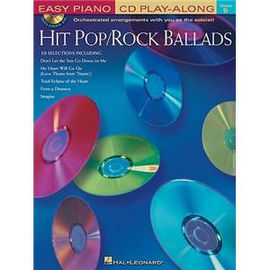 COMPILATION - EASY PIANO CD PLAY ALONG VOL.05 HIT POP/ROCK BALLADS + CD