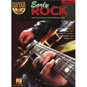 COMPILATION - GUITAR PLAY ALONG VOL.011 EARLY ROCK + CD