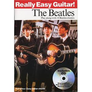 BEATLES THE - REALLY EASY GUITAR + CD