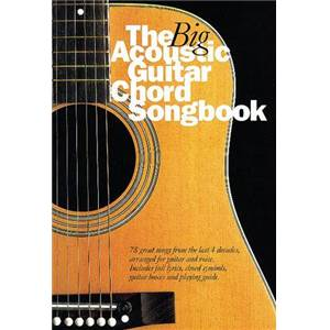 COMPILATION - BIG GUITAR CHORD SONGBOOK : ACOUSTIC 1