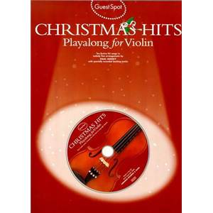 COMPILATION - GUEST SPOT CHRISTMAS POUR VIOLON + CD