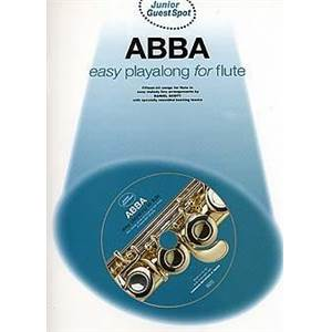 ABBA - JUNIOR GUEST SPOT EASY PLAY ALONG FLUTE + CD