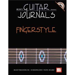 ANDREWS LEE DREW - GUITAR JOURNALS FINGERSTYLE TAB. + CD