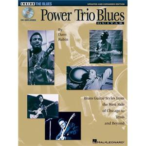 RUBIN DAVE - POWER TRIO BLUES UPDATED & EXPANDED EDITION + CD