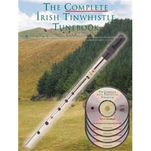 MCCULLOUGH L.E. - COMPLETE IRISH TINWHISTLE TUNE + 4 CD