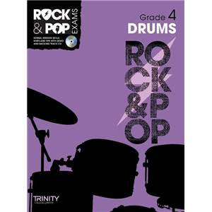 COMPILATION - TRINITY COLLEGE LONDON : ROCK & POP GRADE 4 FOR DRUMS + CD