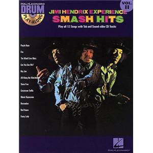 HENDRIX JIMI - DRUM PLAY ALONG VOL.11 SMASH HITS + CD