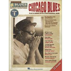 COMPILATION - BLUES PLAY ALONG VOL.1 : CHICAGO BLUES + CD