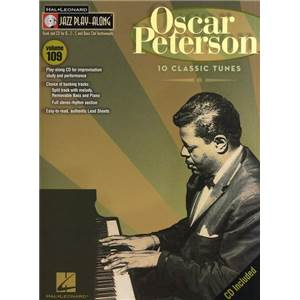 PETERSON OSCAR - JAZZ PLAY ALONG VOL.109 + CD