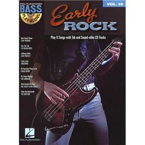 COMPILATION - BASS PLAY ALONG VOL.30 EARLY ROCK + CD