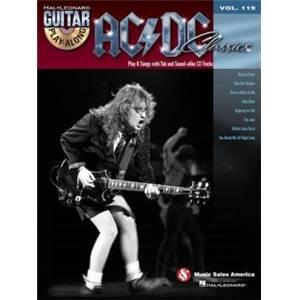 AC/DC - GUITAR PLAY ALONG VOL.119 CLASSICS + CD