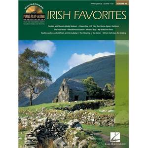 COMPILATION - PIANO PLAY ALONG VOL.090 IRISH FAVORITES + CD