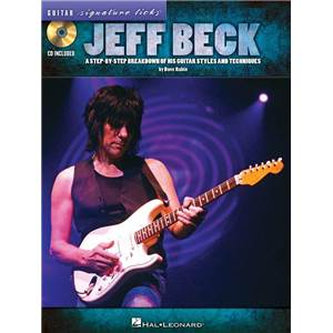 BECK JEFF - GUITAR SIGNATURE LICKS + CD