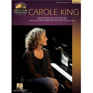 KING CAROLE - PIANO PLAY ALONG VOL.106 + CD