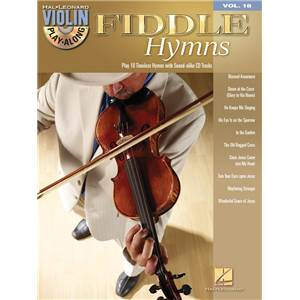 COMPILATION - VIOLIN PLAY ALONG VOL.018 FIDDLE HYMNS + CD