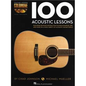 CHAD JOHNSON / MICHAEL MUELLER - 100 ACOUSTIC LESSONS PAR CHAD JOHNSON / MICHAEL MUELLER + 2CDS