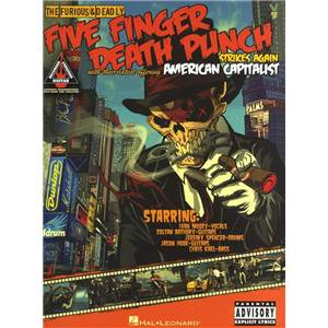 FIVE FINGER DEATH PUNCH - 5 FINGER DEATH PUNCH AMERICAN CAPITALIST GUIT. TAB.