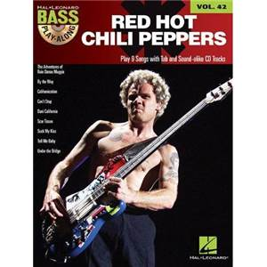 RED HOT CHILI PEPPERS - BASS PLAY ALONG VOL.42 + CD