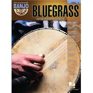 COMPILATION - BANJO PLAY ALONG VOL.01 BLUEGRASS + CD