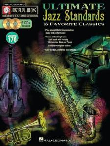 COMPILATION - JAZZ PLAY ALONG VOL.170 ULTIMATE JAZZ STANDARDS + 2CD