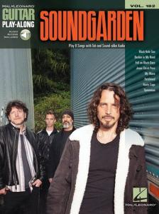 SOUNDGARDEN - GUITAR PLAY-ALONG VOL.182 + AUDIO ONLINE ACCESS