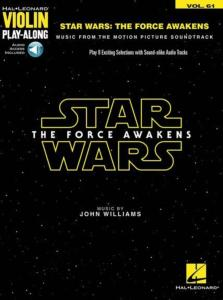 COMPILATION - VIOLIN PLAYALONG VOL.061 STAR WARS THE FORCE AWAKENS + ONLINE AUDIO ACCESS