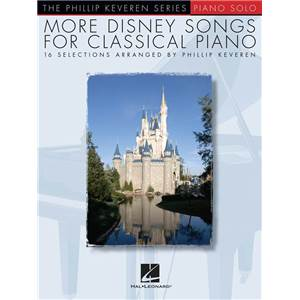 KEVEREN PHILLIP - PIANO SOLOS MORE DISNEY SONGS