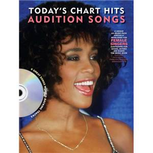 COMPILATION - AUDITION SONGS FOR FEMALE SINGERS : TODAY'S CHART HITS 2012 + CD