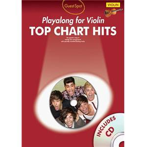 COMPILATION - GUEST SPOT TOP CHART HITS VIOLON + CD