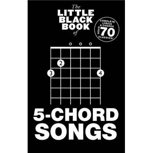 COMPILATION - LITTLE BLACK SONGBOOK 5 CHORD SONGS