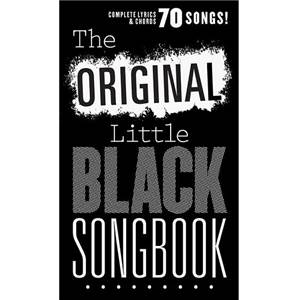 COMPILATION - LITTLE BLACK SONGBOOK (POCHE) THE ORIGINAL 70 SONGS