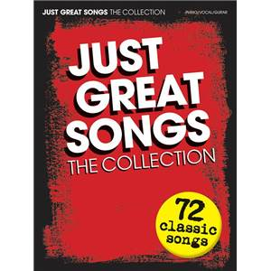 COMPILATION - JUST GREAT SONGS THE COLLECTION 72 CLASSIC SONGS P/V/G
