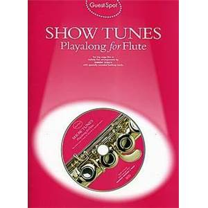 COMPILATION - GUEST SPOT SHOWTUNES PLAY ALONG FOR FLUTE + CD