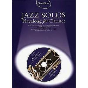 COMPILATION - GUEST SPOT JAZZ SOLOS PLAY ALONG FOR CLARINET + CD