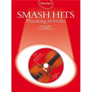 COMPILATION - GUEST SPOT SMASH HITS PLAY ALONG FOR VIOLIN + CD