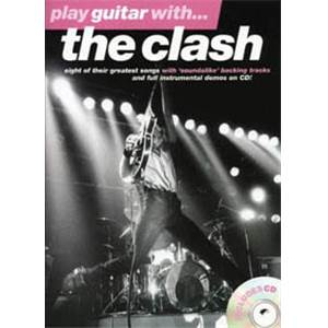 CLASH THE - PLAY GUITAR WITH... + CD