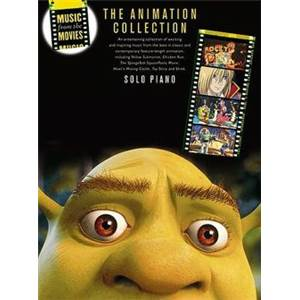 COMPILATION - MUSIC FROM THE MOVIES THE ANIMATION COLLECTION PIANO SOLO