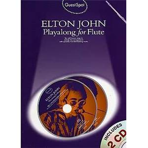 JOHN ELTON - GUEST SPOT PLAY ALONG FOR FLUTE + 2CDS